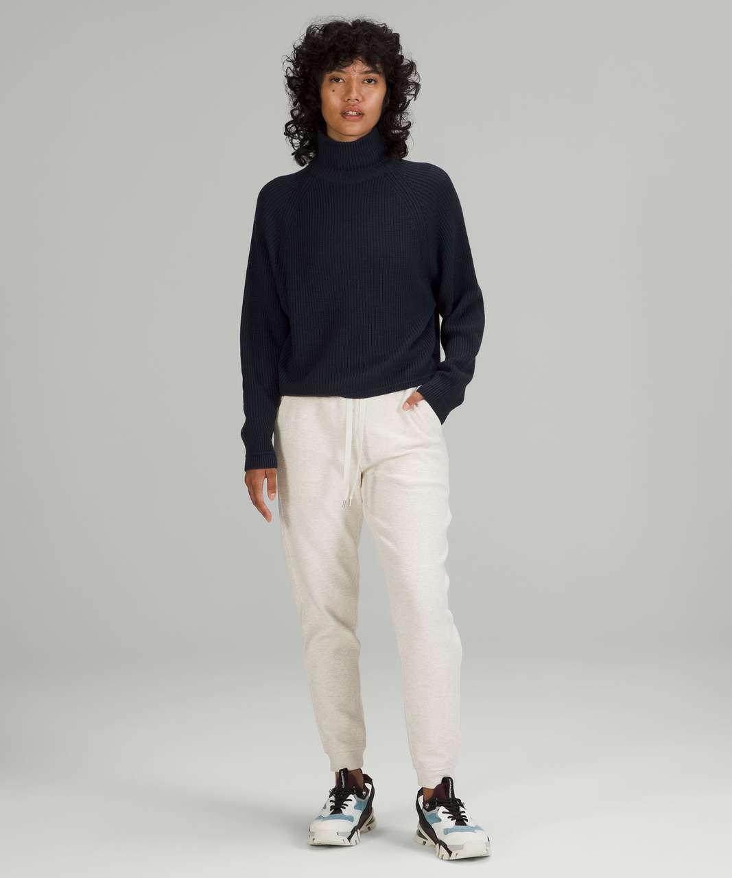Lululemon Ribbed Turtleneck Sweater - True Navy