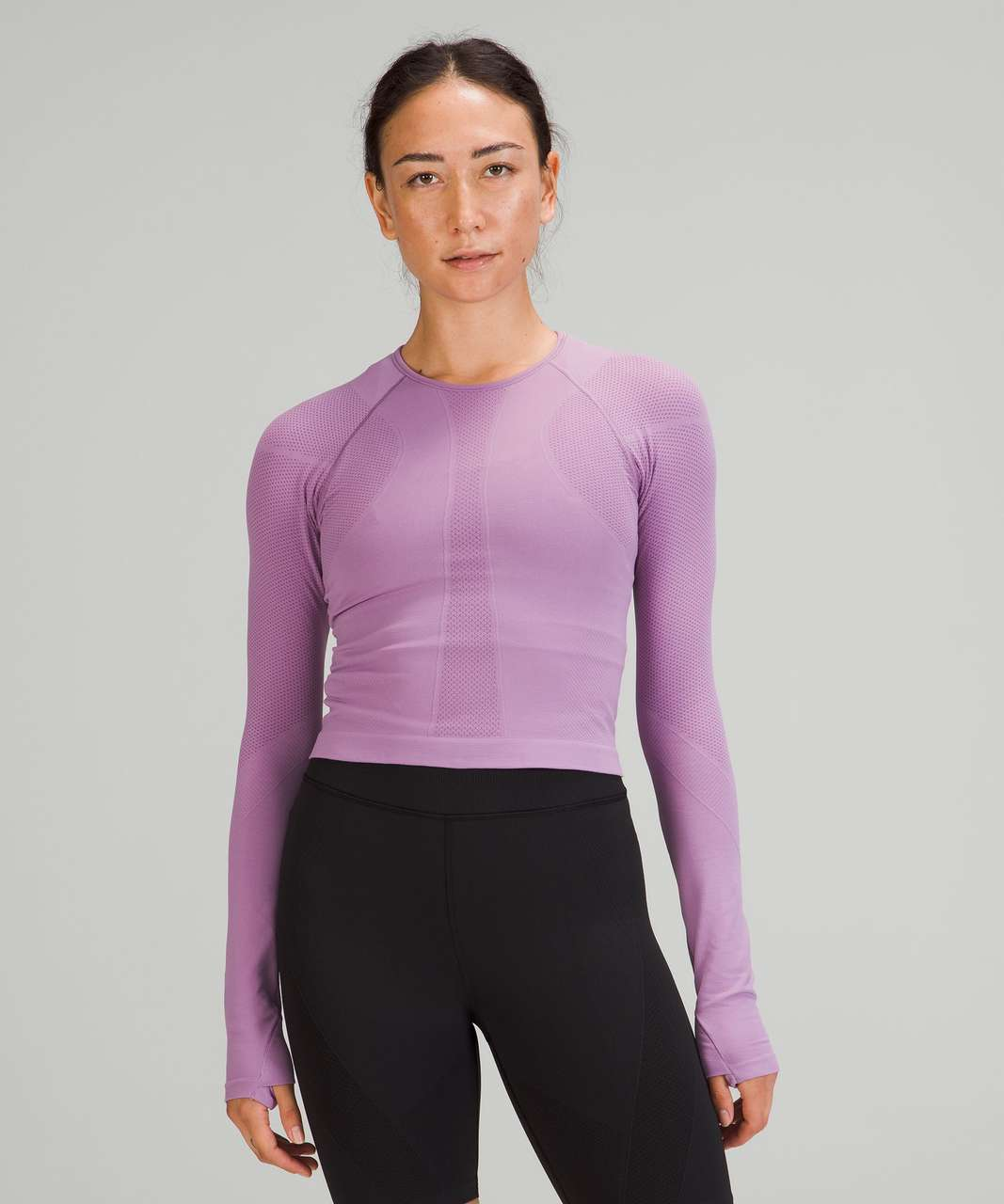 Lululemon For the Chill of it Long Sleeve - Wisteria Purple