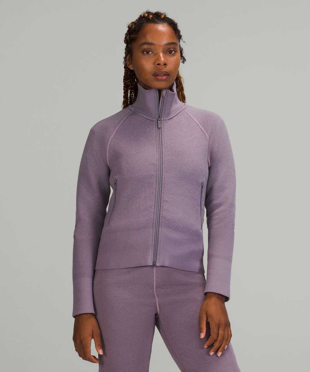 Lululemon End State Full Zip - Dusky Lavender