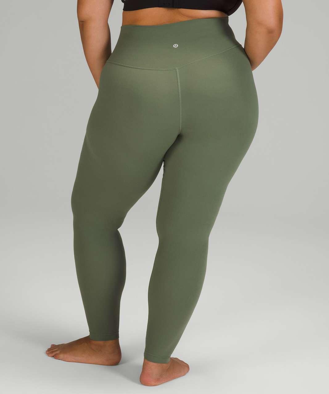 "Lululemon Align High-Rise Pant 28"" - Green Twill"