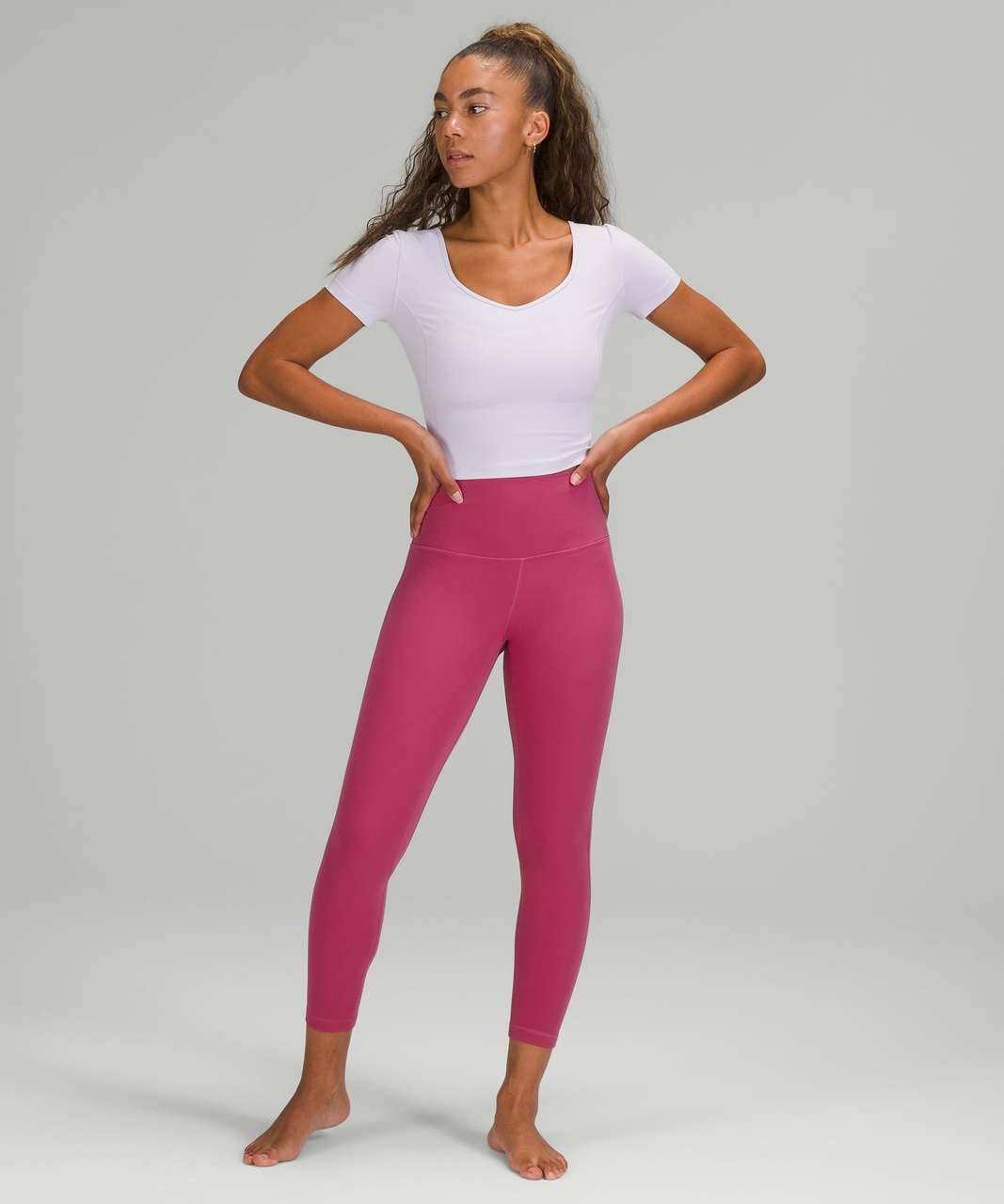 "Lululemon Align High-Rise Pant 25"" - Pink Lychee"