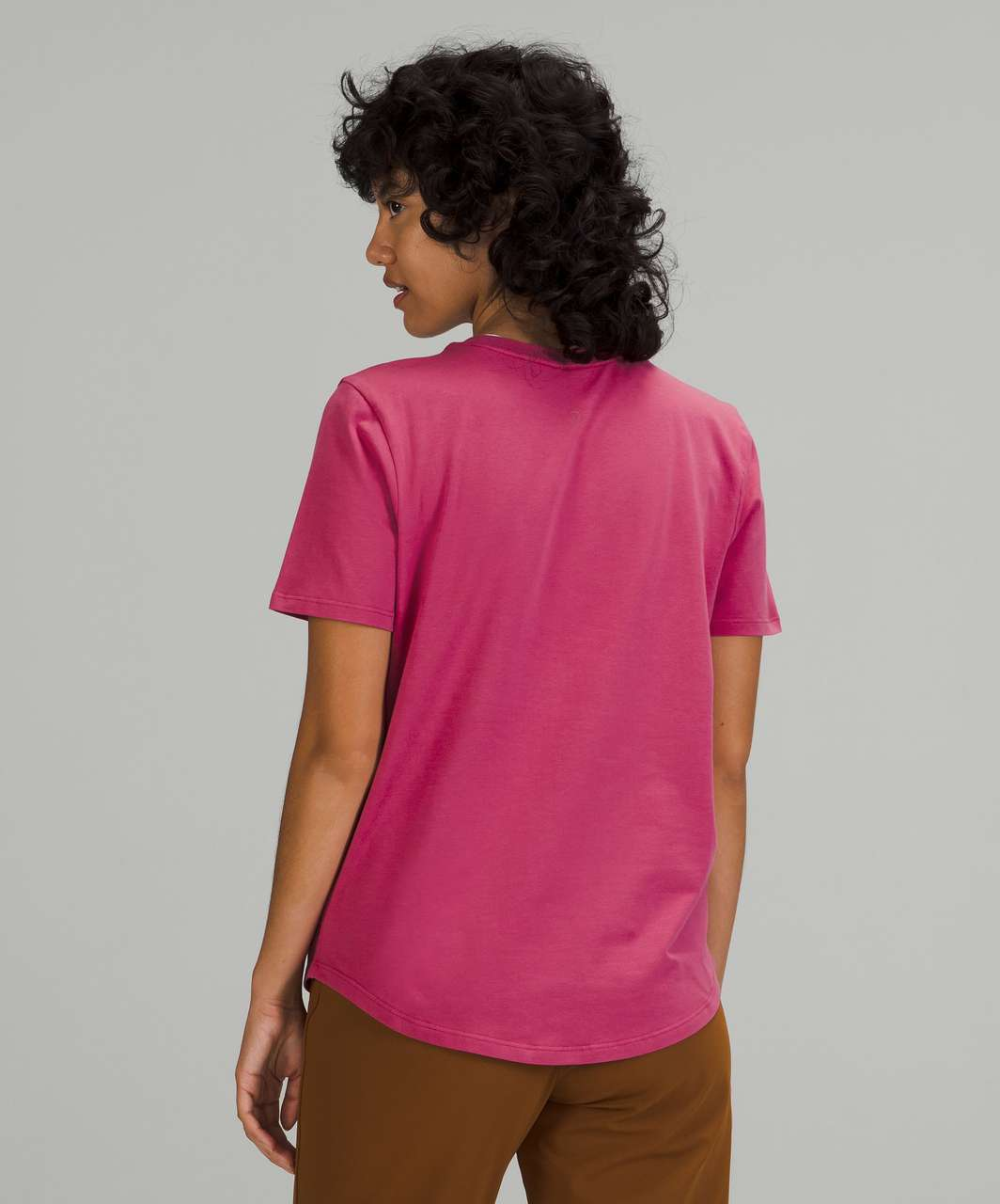 Lululemon Love Crew T-Shirt - Pink Lychee
