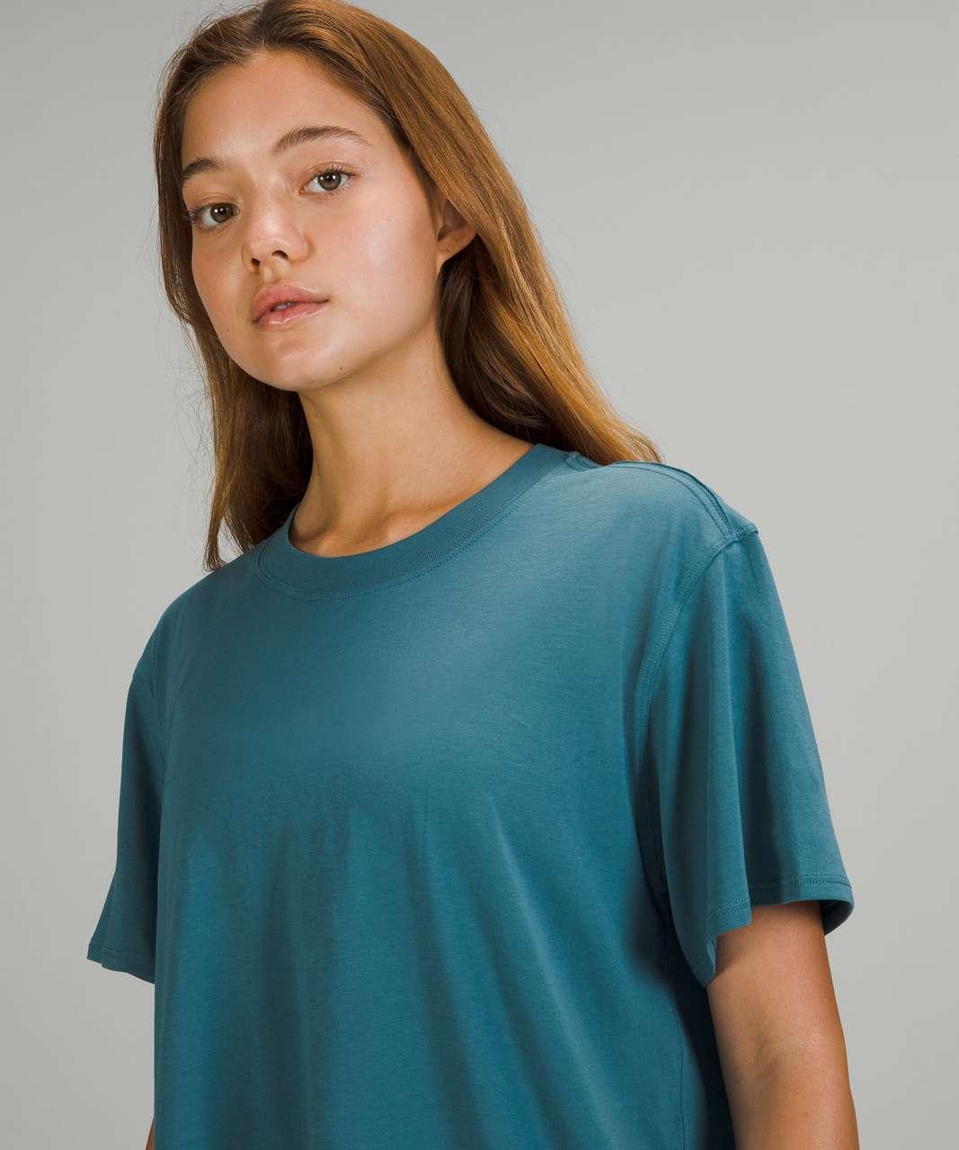 Lululemon All Yours Short Sleeve T-Shirt - Capture Blue