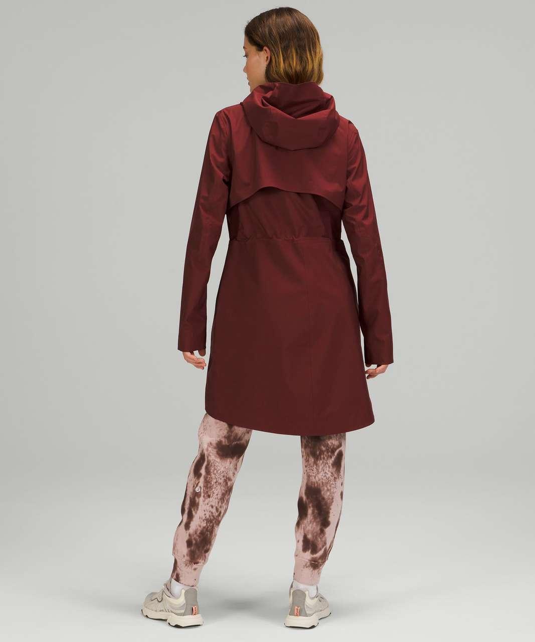 Lululemon Rain Rebel Jacket - Red Merlot