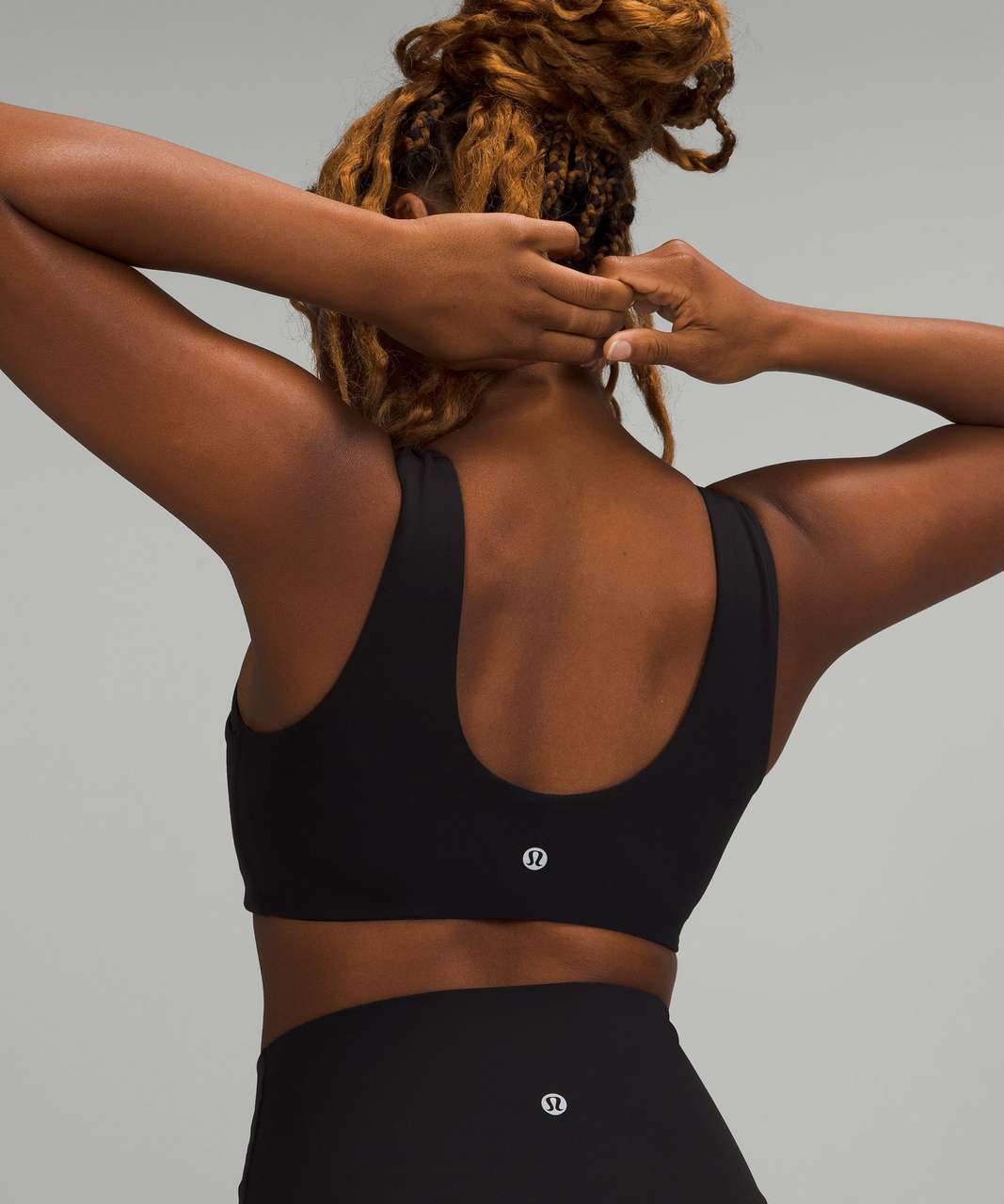 Lululemon Nulu Cross-Front Yoga Bra *Light Support, B/C Cups - Black