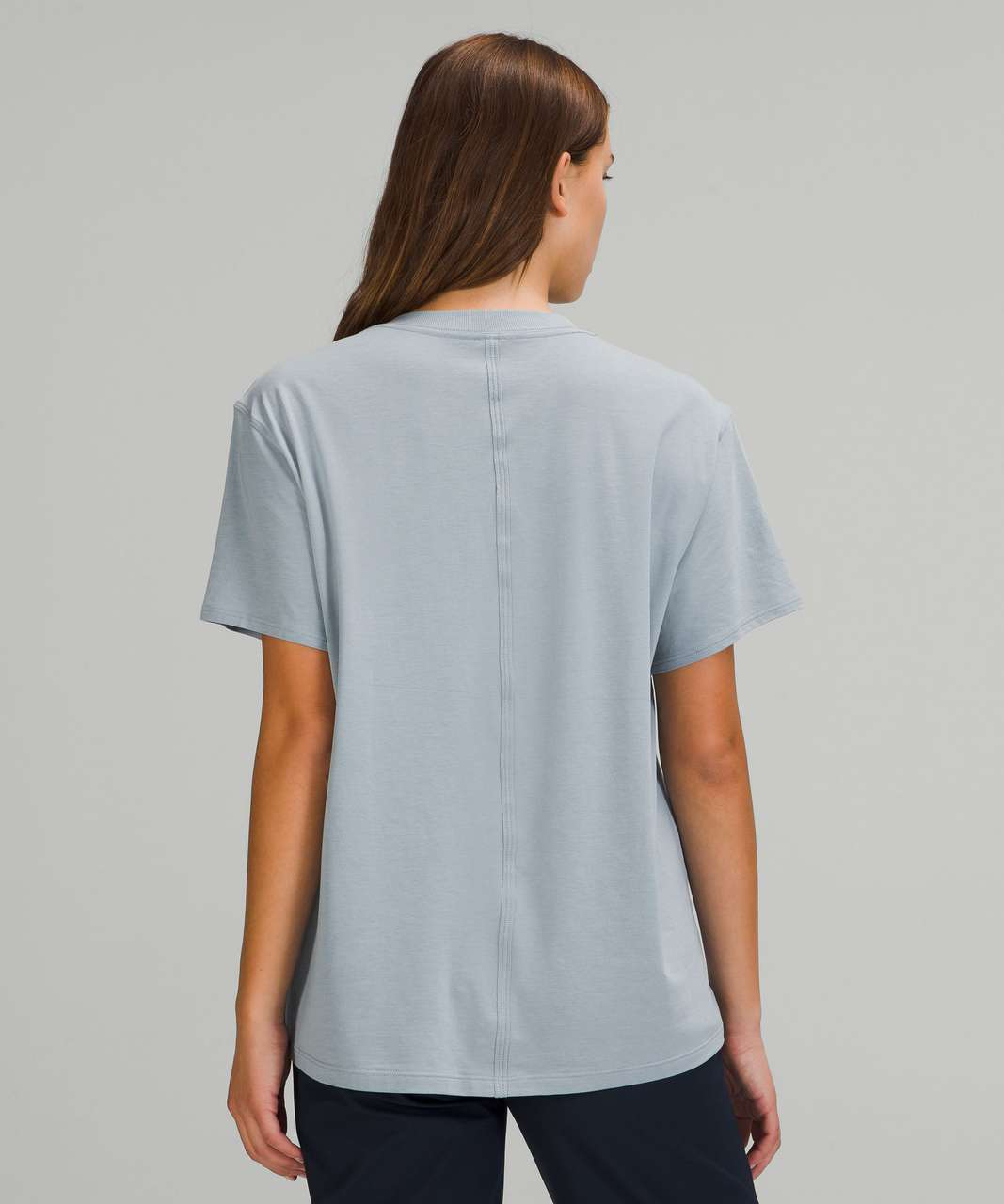 Lululemon All Yours Short Sleeve T-Shirt - Chambray