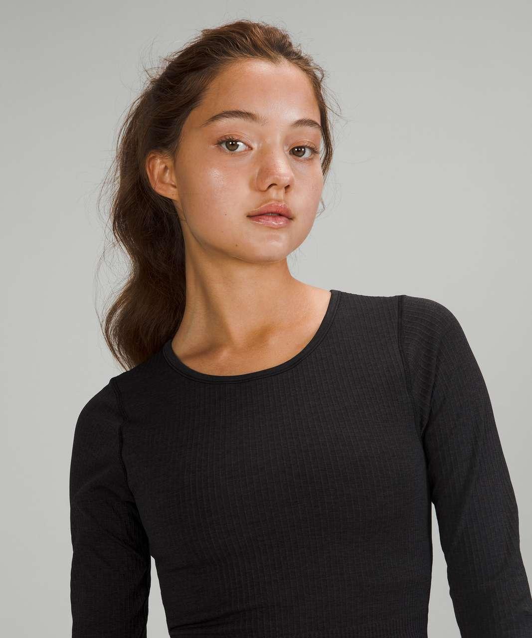 Lululemon Ebb to Street Long Sleeve - Black