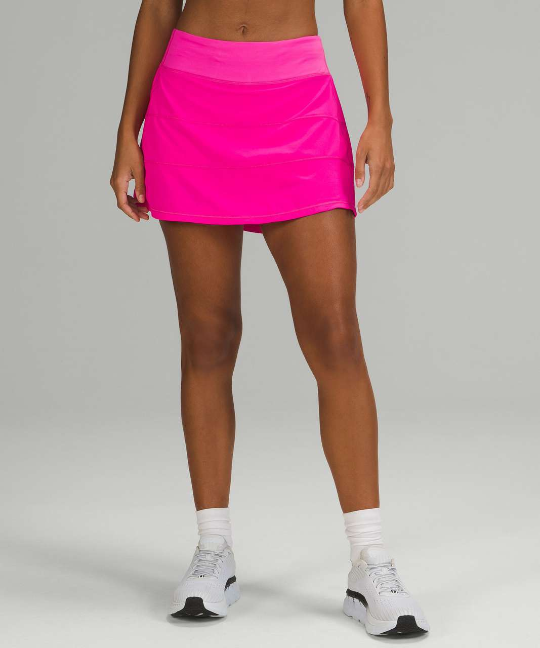 Lululemon Pace Rival Mid-Rise Skirt *Long - Pow Pink