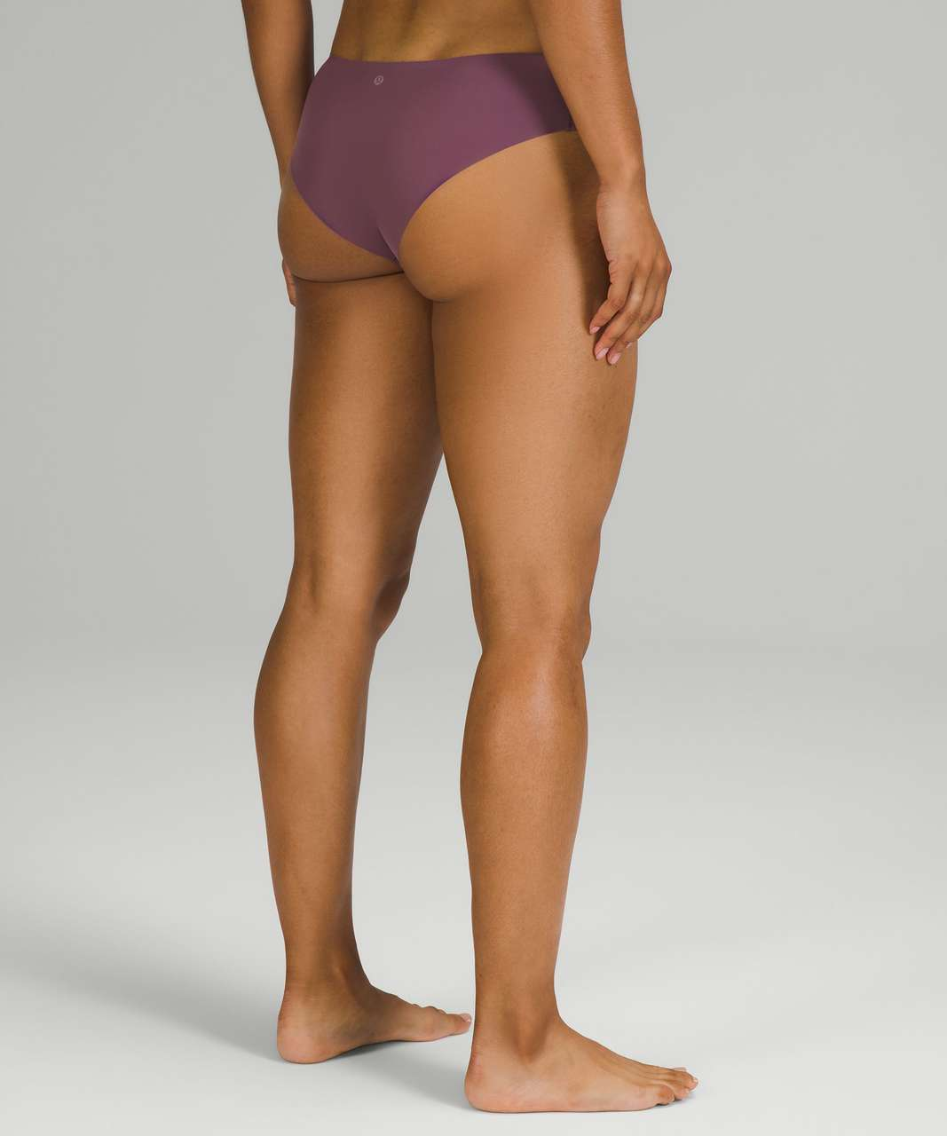 Lululemon InvisiWear Mid-Rise Cheeky Bikini Underwear 3 Pack - Chrome / Brick Purple / Dew Green