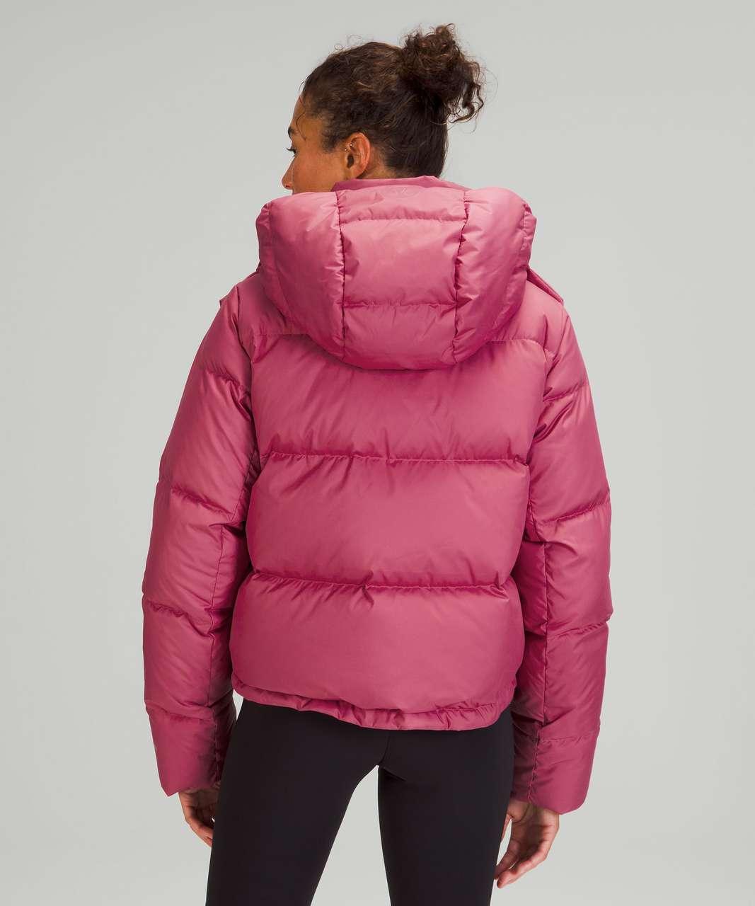 Lululemon Wunder Puff Cropped Jacket - Pink Lychee