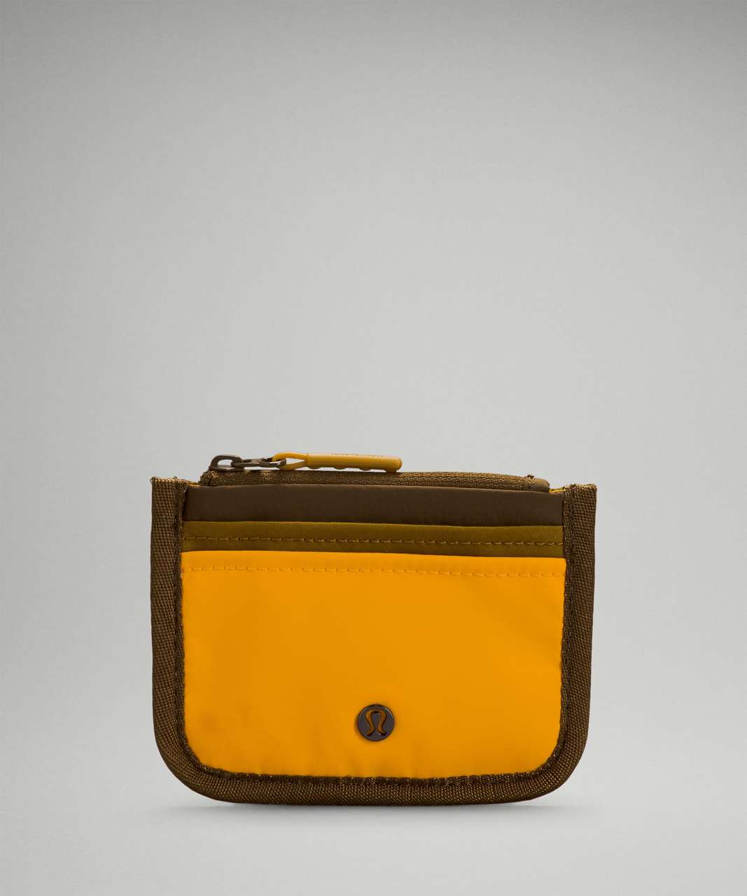 Lululemon True Identity Card Case - Clementine / Gold Spice / Deep Artifact