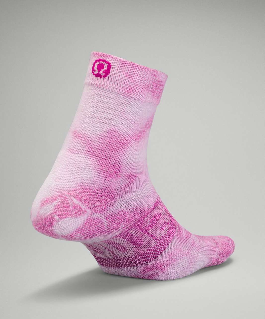 Lululemon Daily Stride Mid-Crew Sock *Tie Dye - Ripened Raspberry