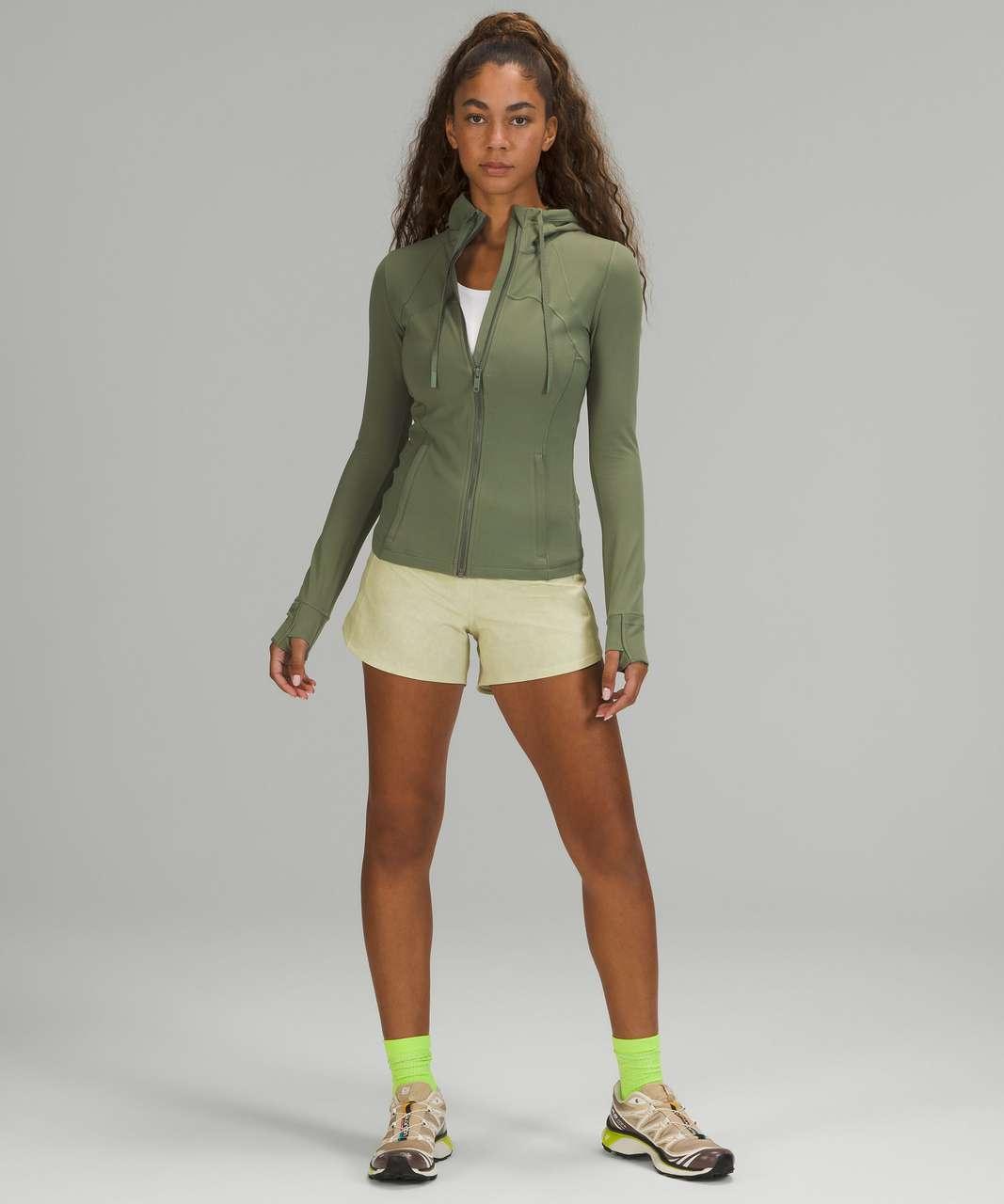 Lululemon Hooded Define Jacket *Nulu - Green Twill