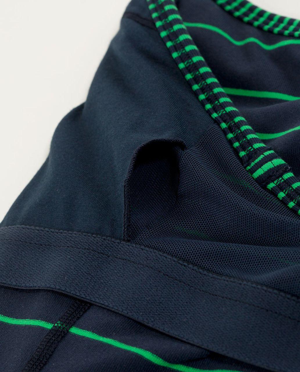 Lululemon Power Y Tank *Luon Light - Slalom Stripe Inkwell / Hyper Stripe Green Bean / Inkwell