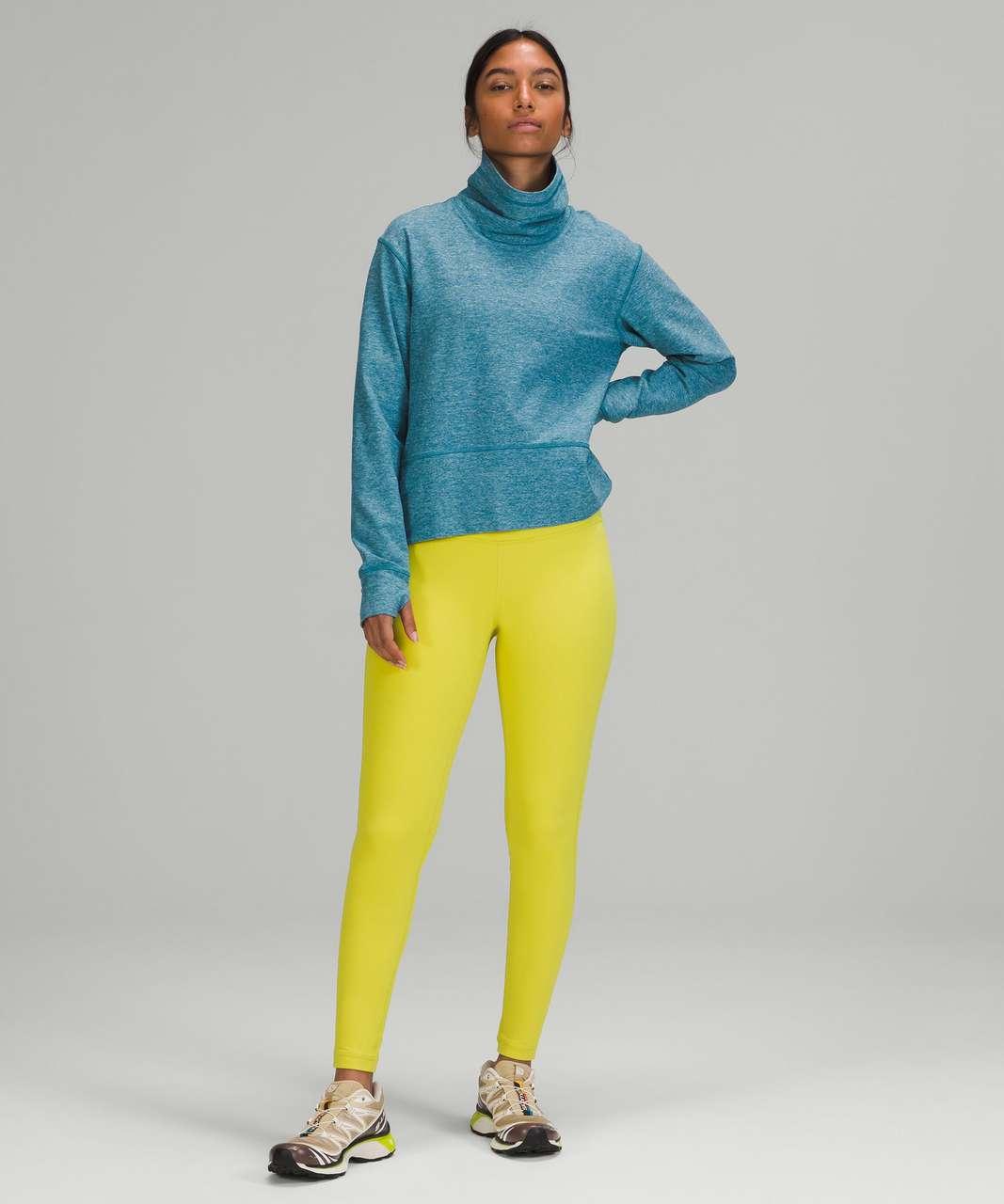Lululemon Ready to Rulu Pullover - Heathered Capture Blue