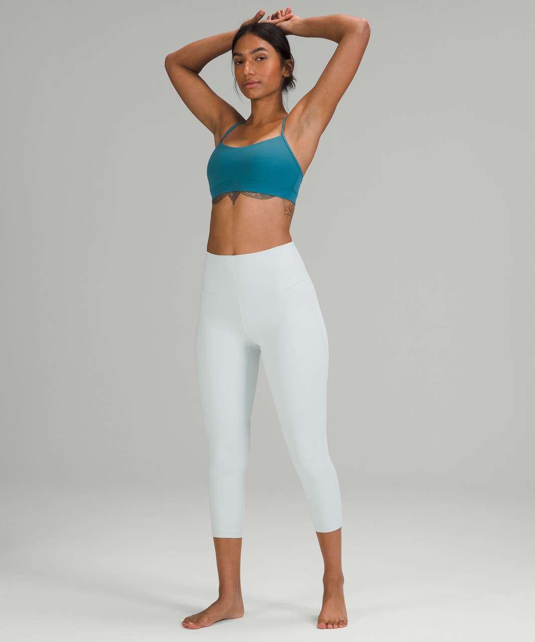 "Lululemon Nulu High-Rise Yoga Crop 23"" - Ocean Air"