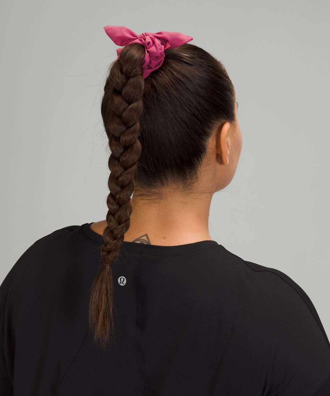 Lululemon Uplifting Scrunchie *Bow - Pink Lychee