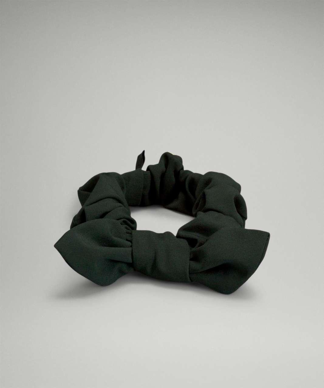 Lululemon Uplifting Scrunchie *Bow - Rainforest Green