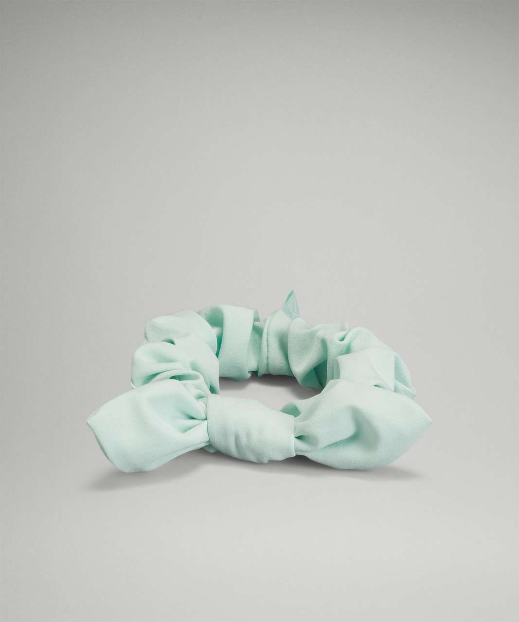 Lululemon Uplifting Scrunchie *Bow - Delicate Mint