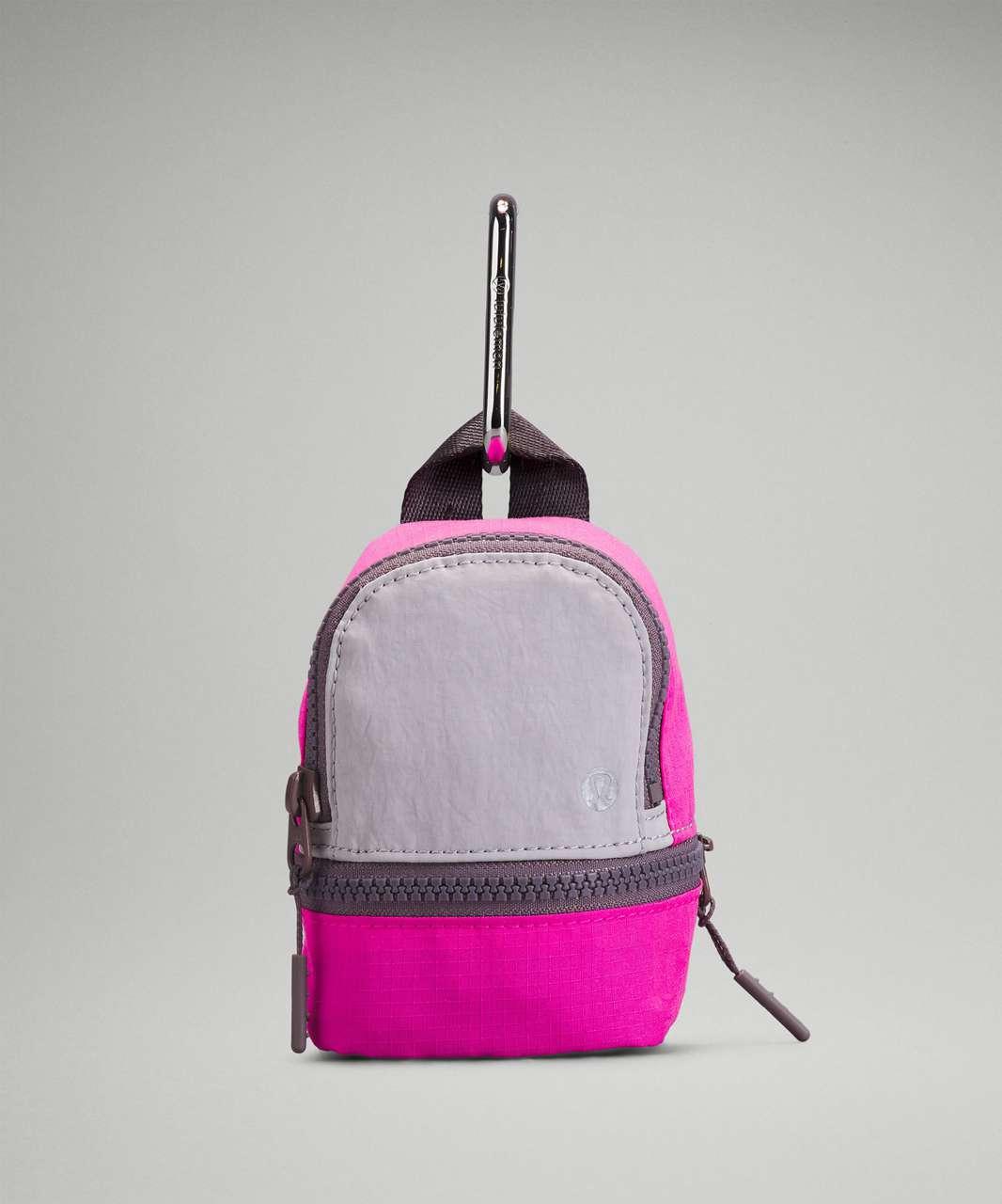 Lululemon City Adventurer Backpack *Nano - Chrome / Pow Pink Light