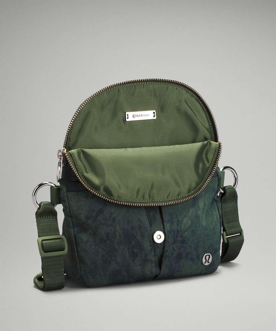 Lululemon All Night Festival Bag *Micro - Aquila Green Twill Multi