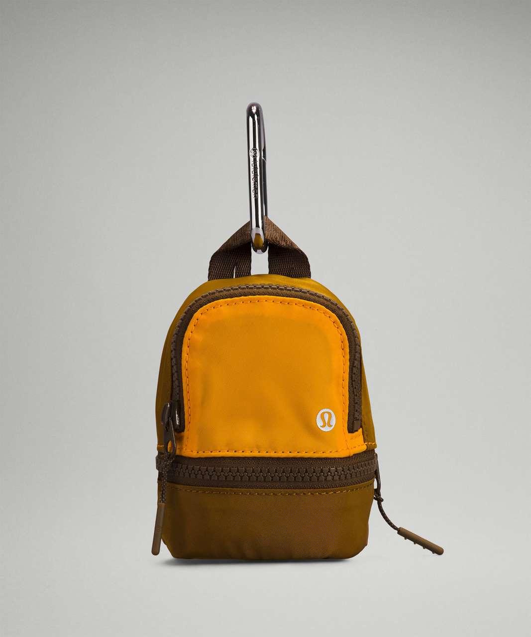 Lululemon City Adventurer Backpack *Nano - Clementine / Gold Spice