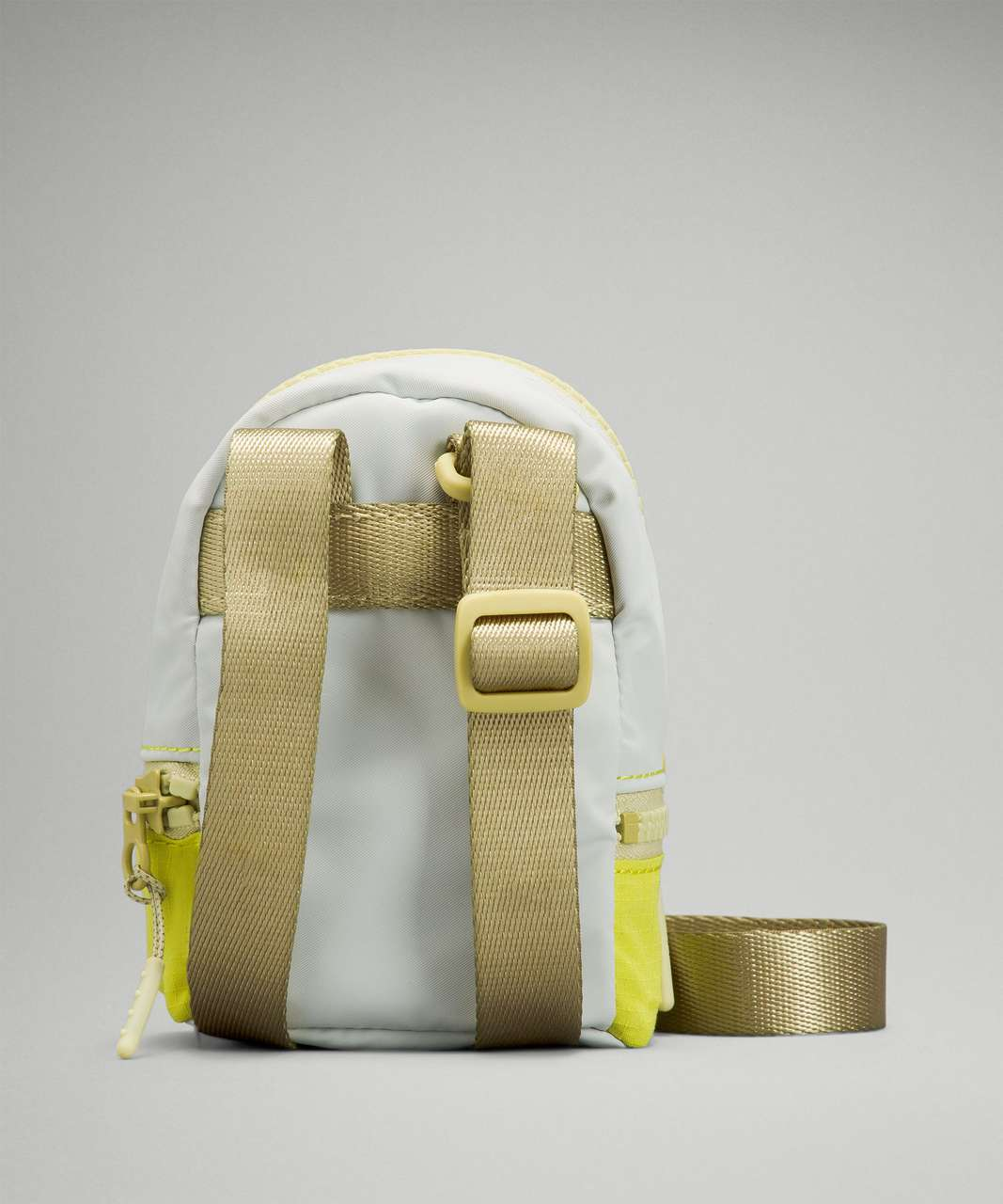 Lululemon City Adventurer Nano Crossbody Bag - Yellow Serpentine / Ocean Air