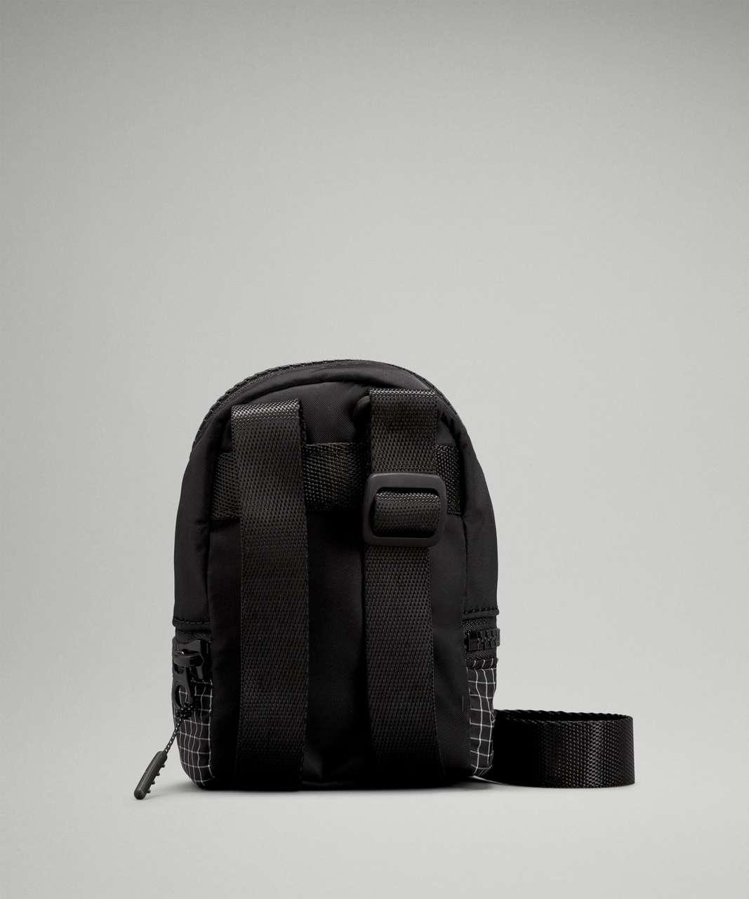 Lululemon City Adventurer Nano Crossbody Bag - Black / White