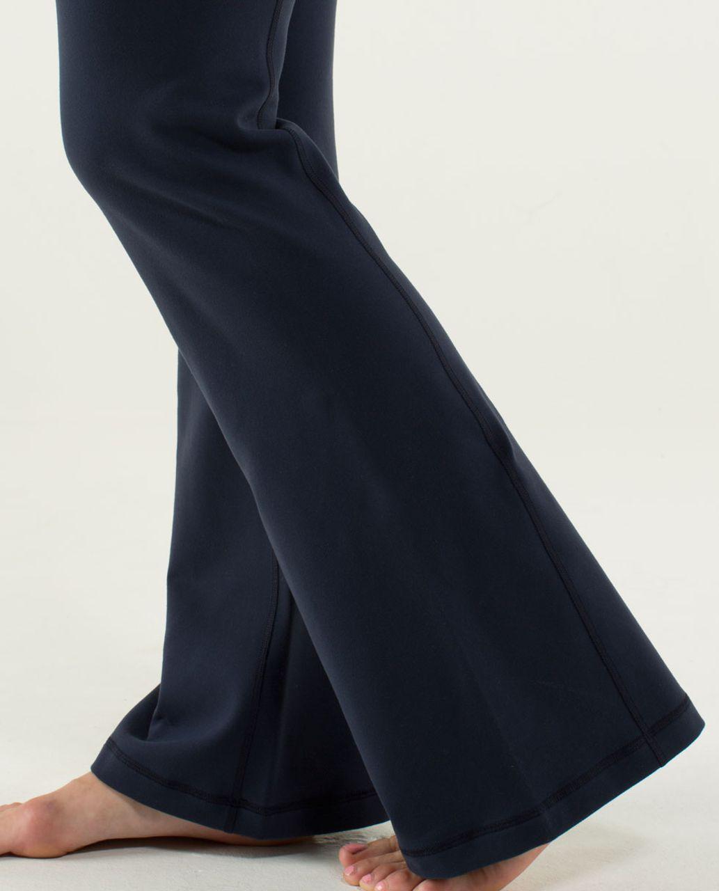 Lululemon Groove Pant (Regular) - Inkwell / Slalom Stripe Inkwell / Hyper Stripe Green Bean