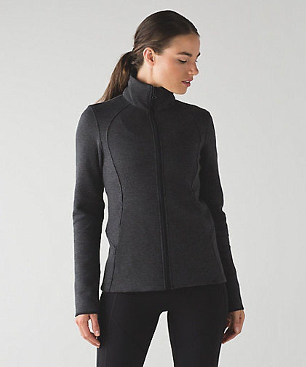 Lululemon Insculpt Jacket Heathered Black Black Lulu