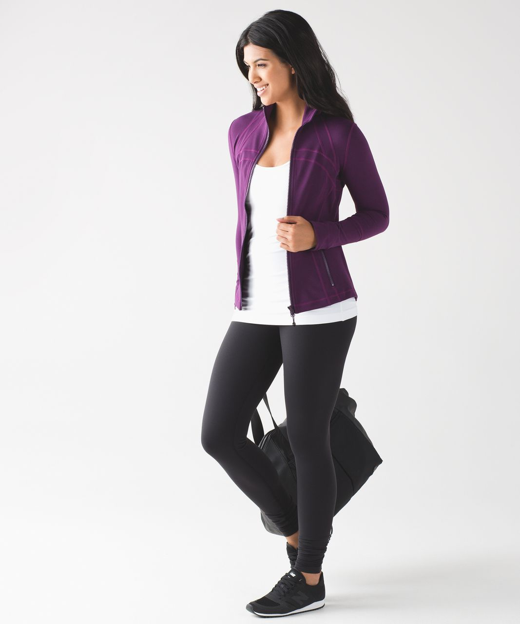 Lululemon Define Jacket - Darkest Magenta