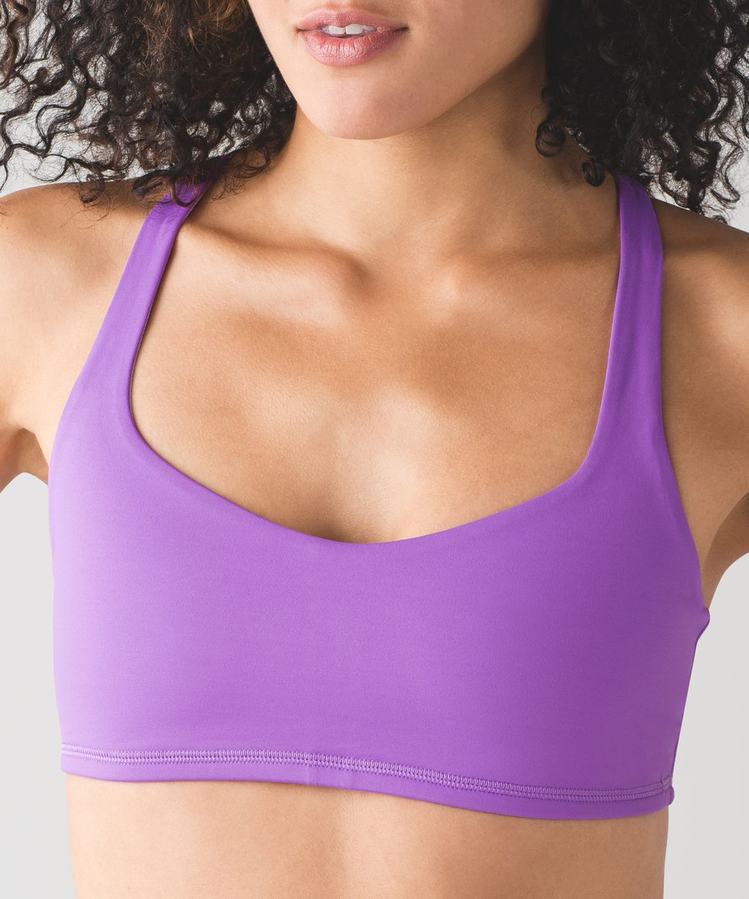 Lululemon Free To Be Bra - Moonlit Magenta