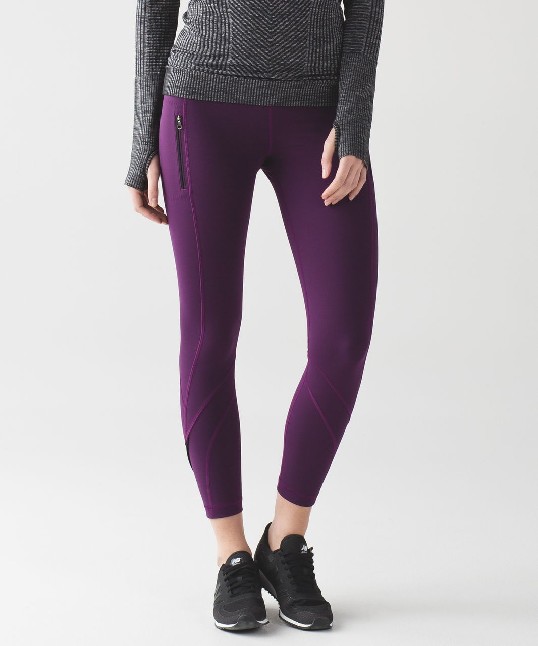 d4d0c1f09c Lululemon Inspire Tight II (Brushed) - Darkest Magenta - lulu fanatics