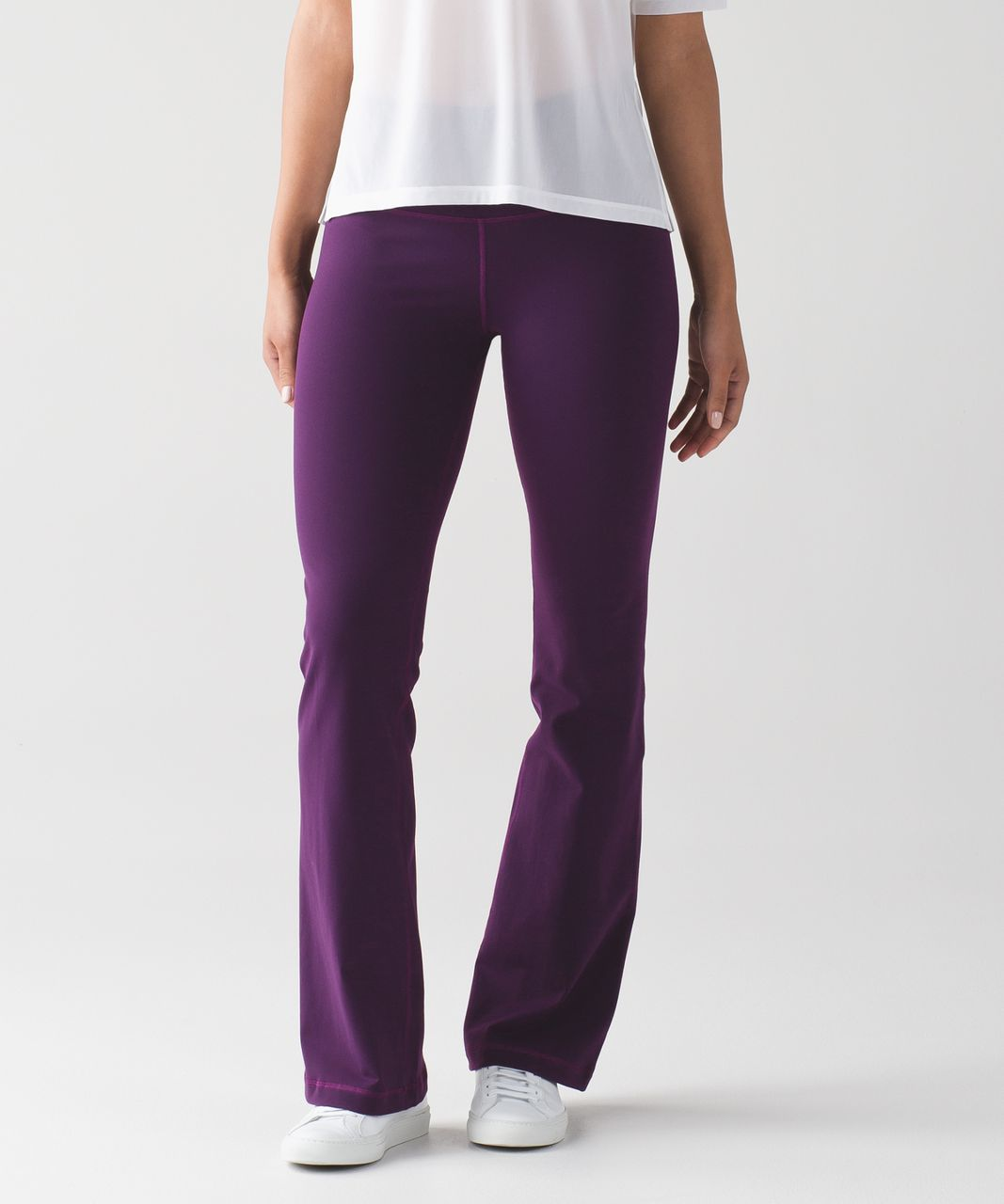 Lululemon Groove Pant III (Regular) - Darkest Magenta