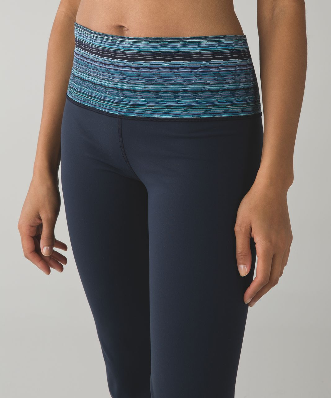 Lululemon Groove Pant III (Tall) - Inkwell / Space Dye Twist Naval Blue Peacock Blue