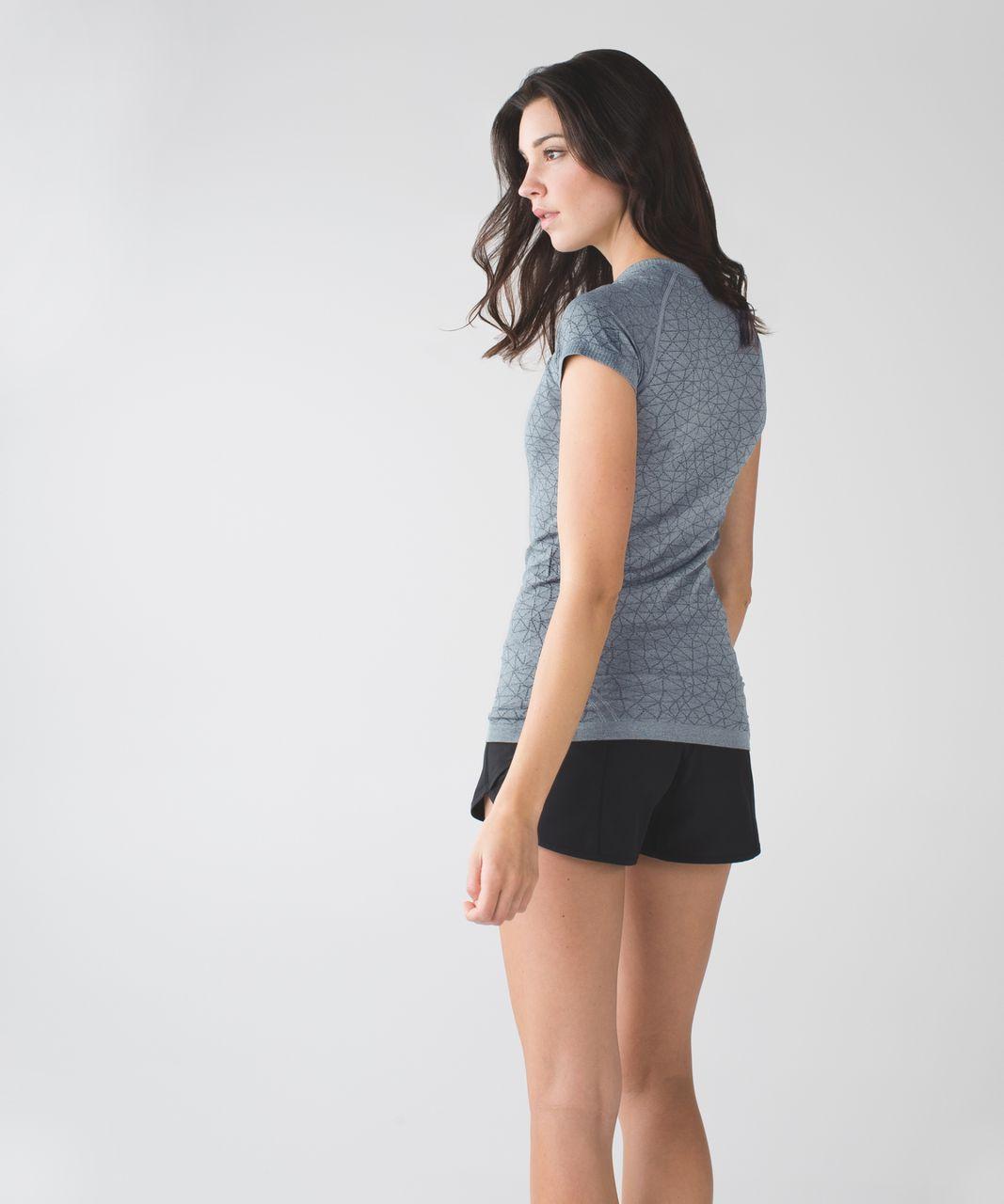 Lululemon Swiftly Tech Short Sleeve Crew - Heathered Slate