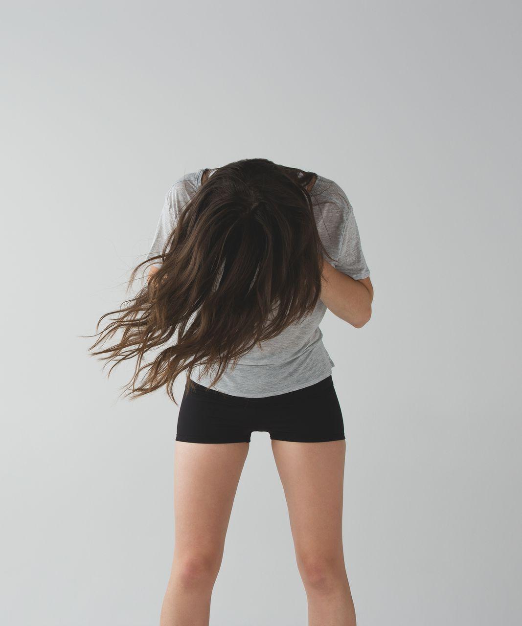 Lululemon Boogie Short (Roll Down) (Full-On Luon) - Black