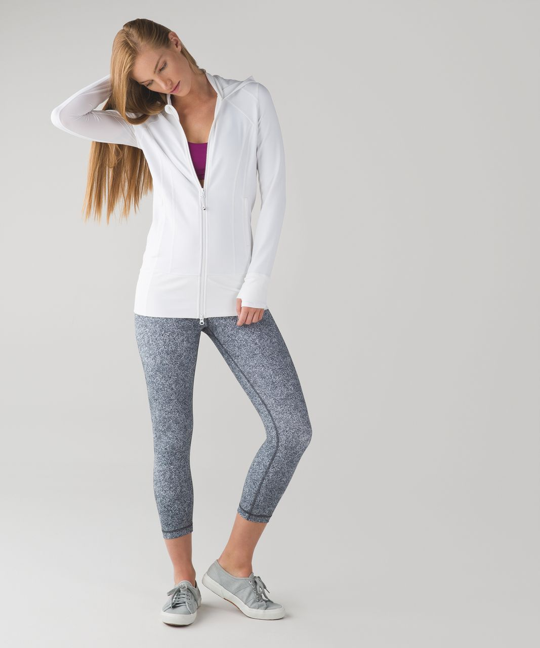 Lululemon Daily Practice Jacket - White