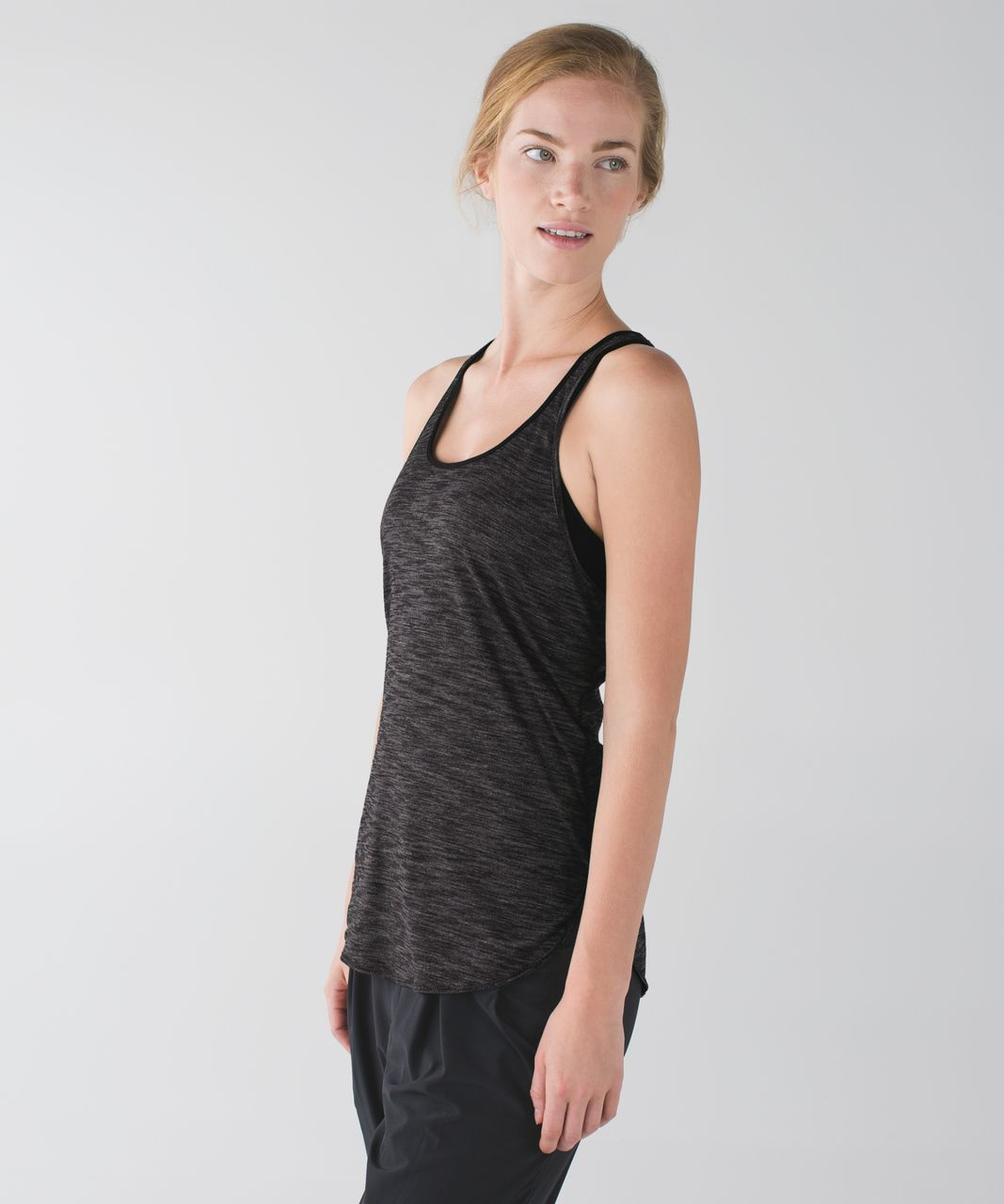 Lululemon What The Sport Singlet - Heathered Black