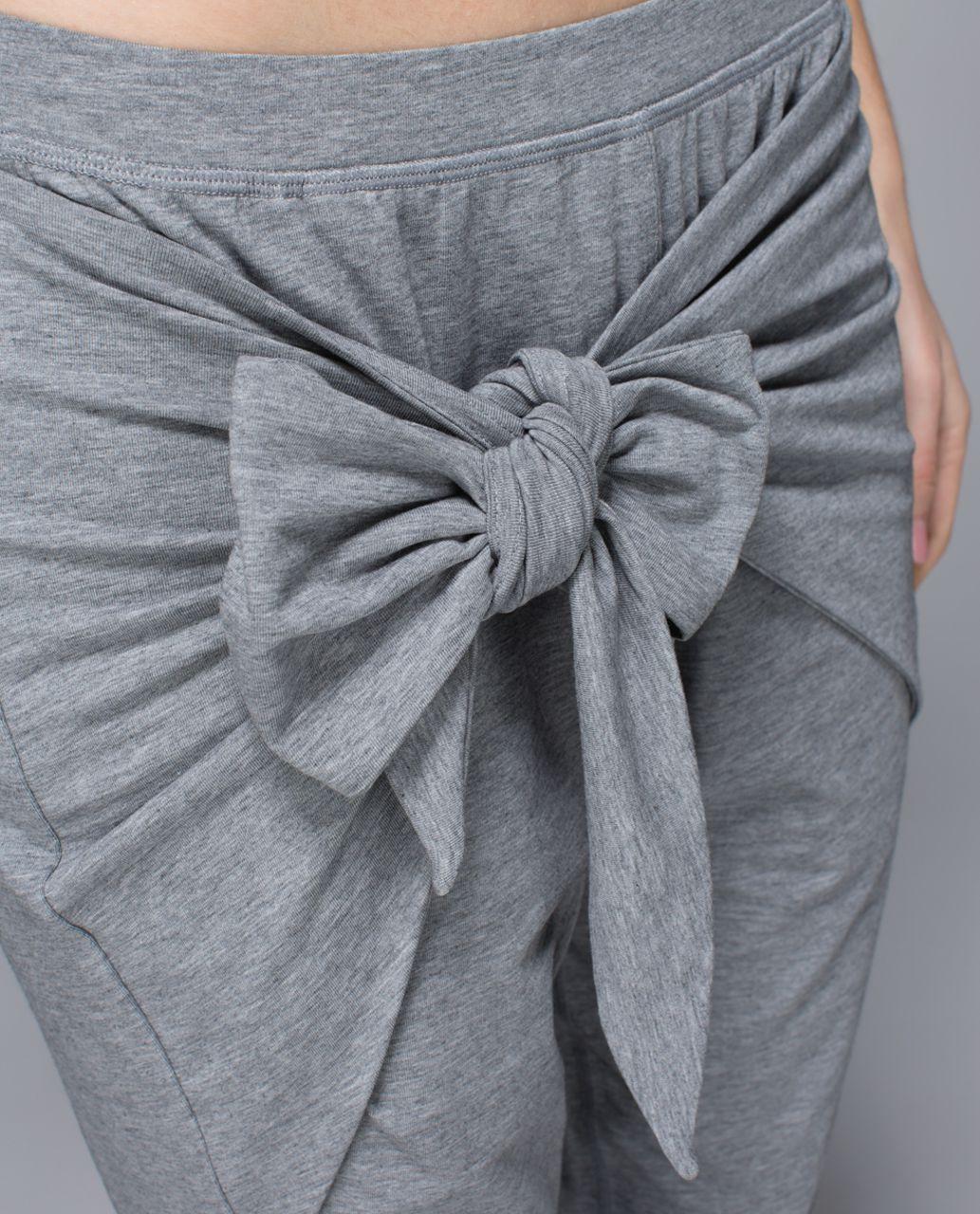 Lululemon Tie One On Pant - Heathered Medium Grey