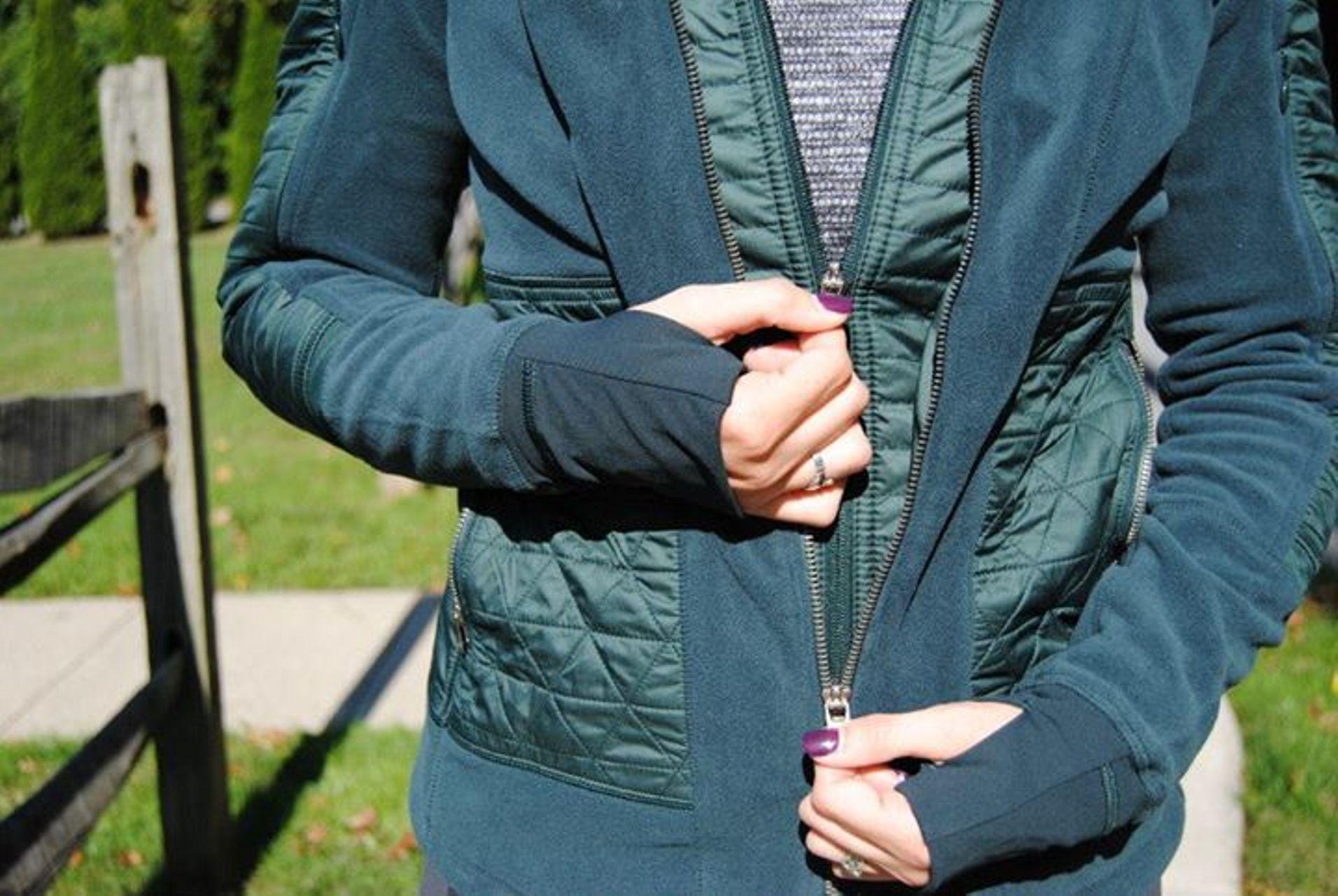Lululemon Fleecy Keen Jacket II - Fuel Green