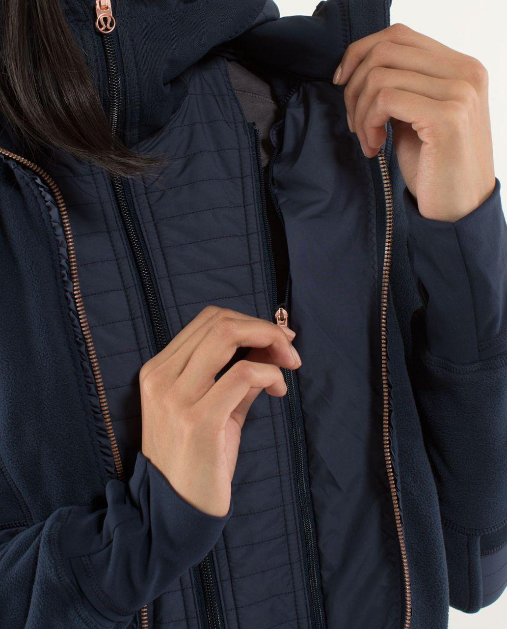 Lululemon Fleecy Keen Jacket - Inkwell