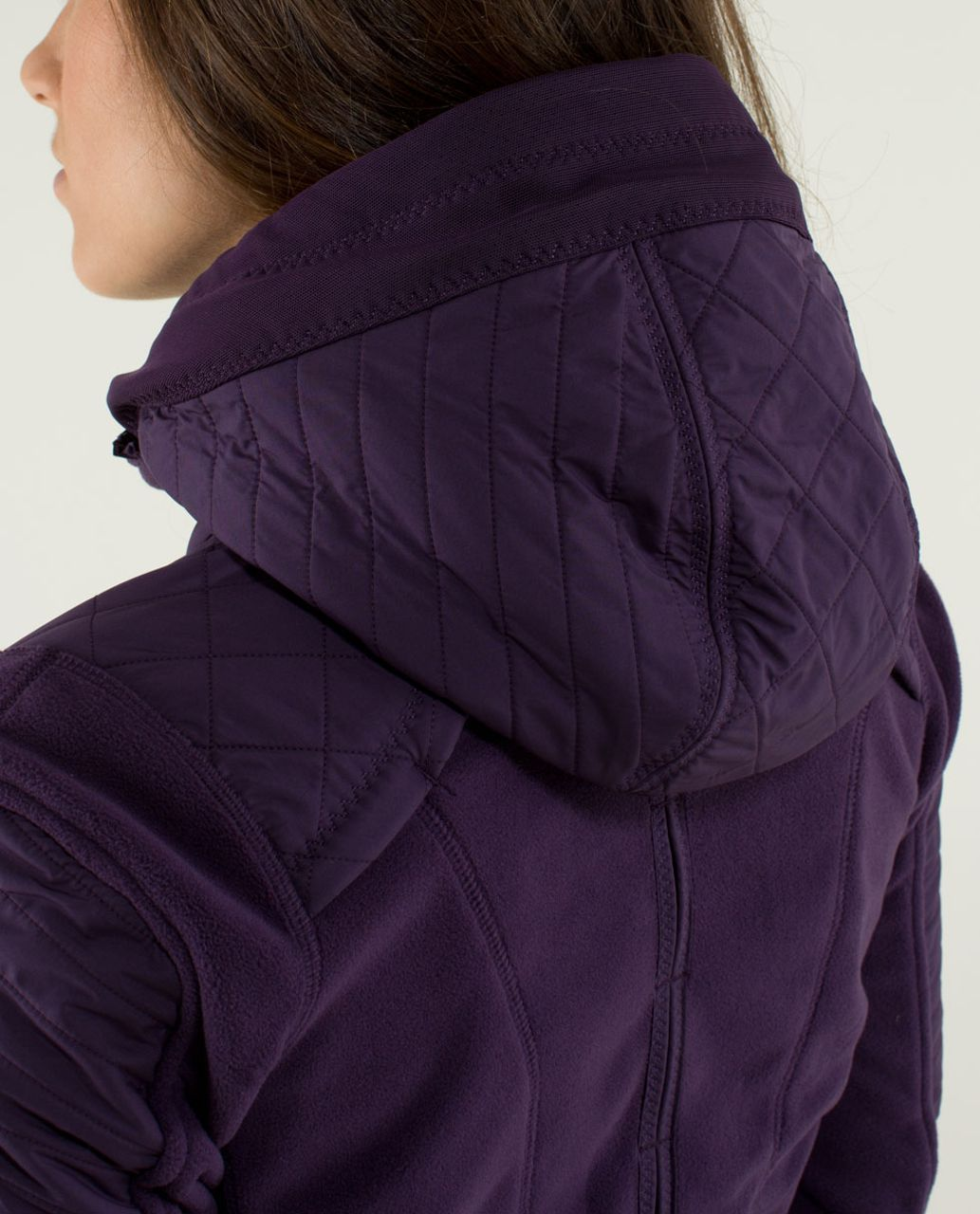 Lululemon Fleecy Keen Jacket - Deep Zinfandel
