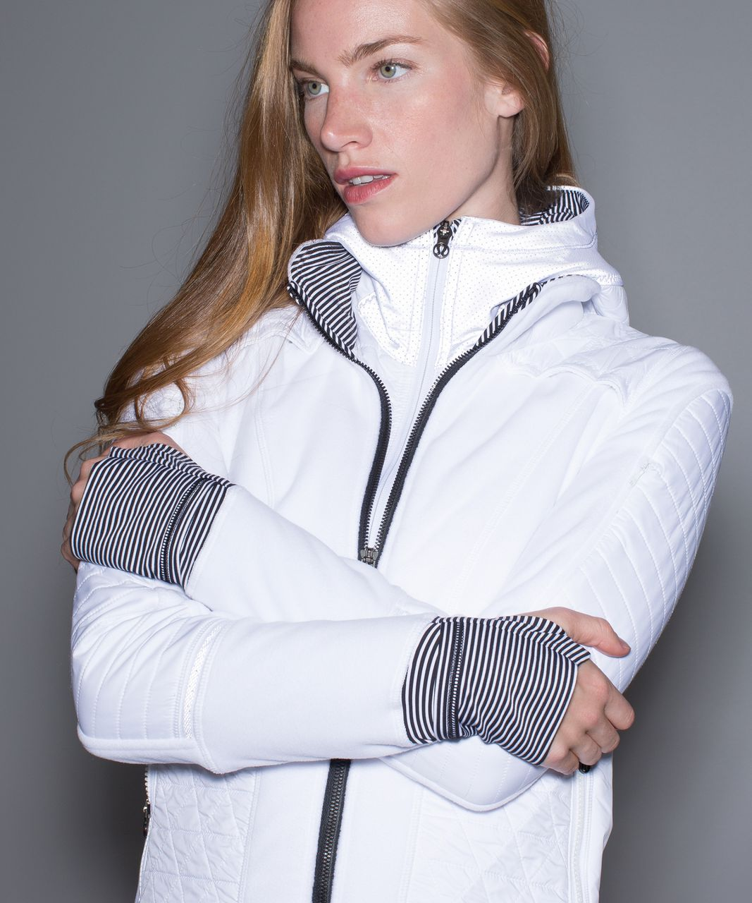 Lululemon Fleecy Keen Jacket III - White