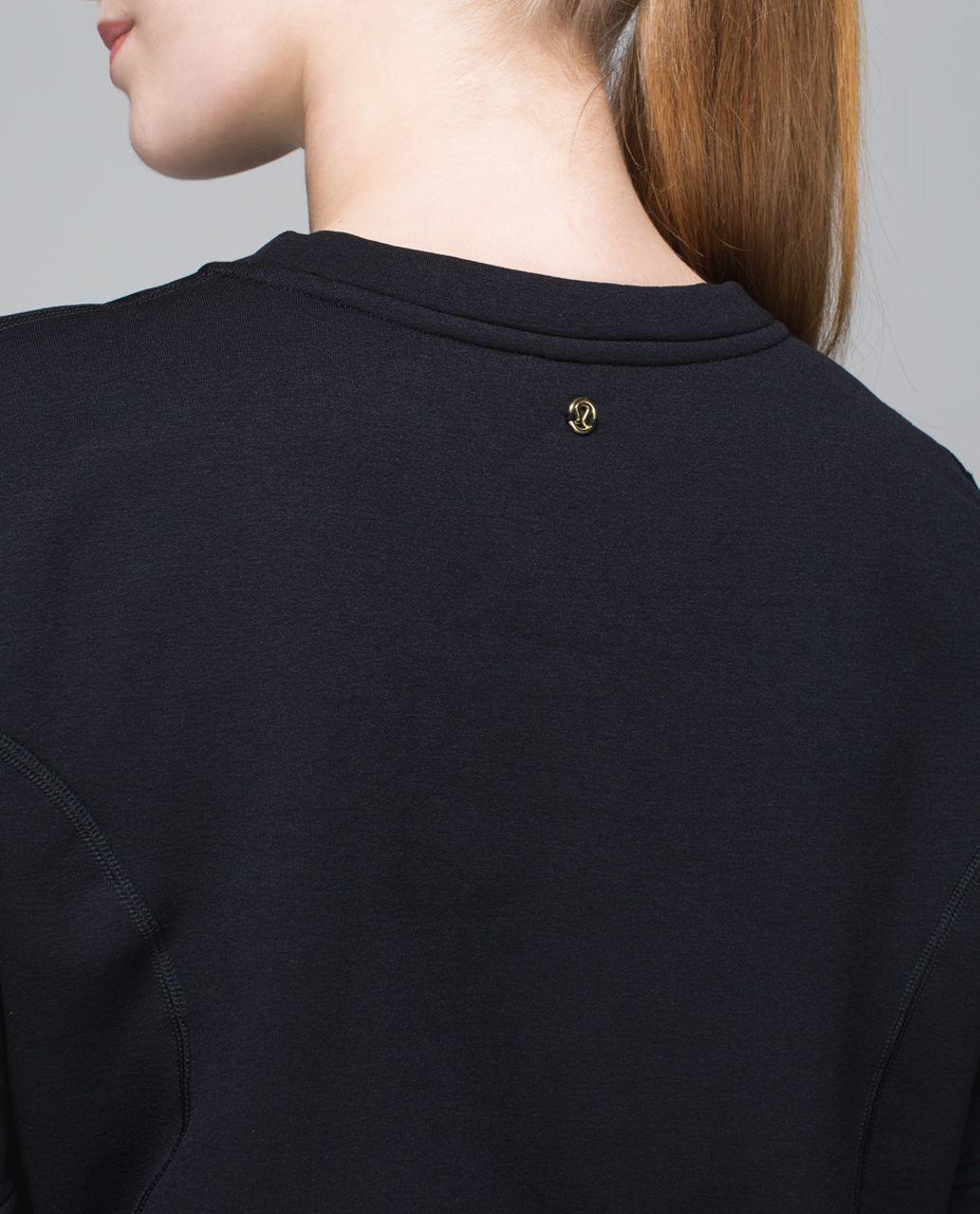 Lululemon Peplum Pullover - Black