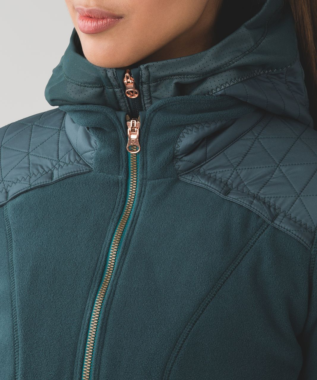 Lululemon Fleecy Keen Jacket III - Dark Fuel