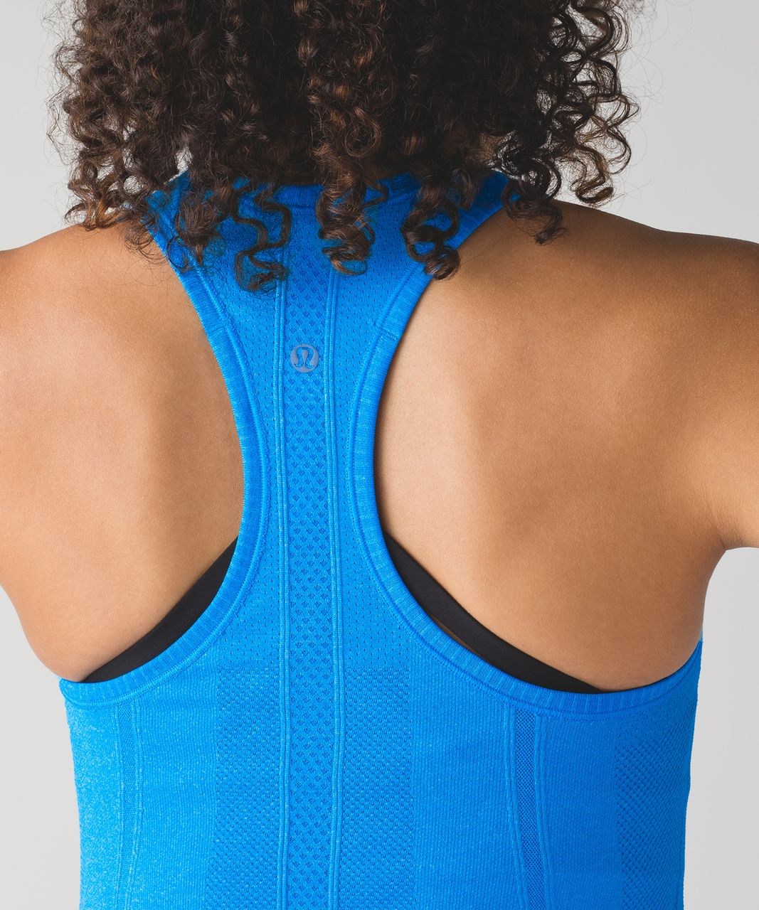 Lululemon Swiftly Tech Racerback - Heathered Beach Blanket Blue