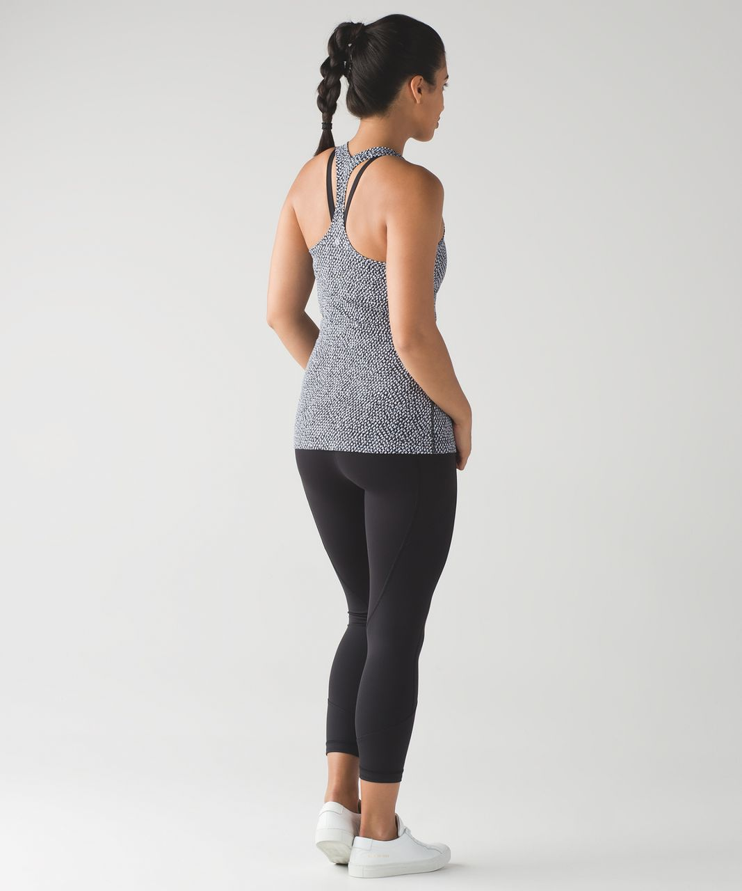 Lululemon Cool Racerback II - Scatter Star Arctic Grey Black