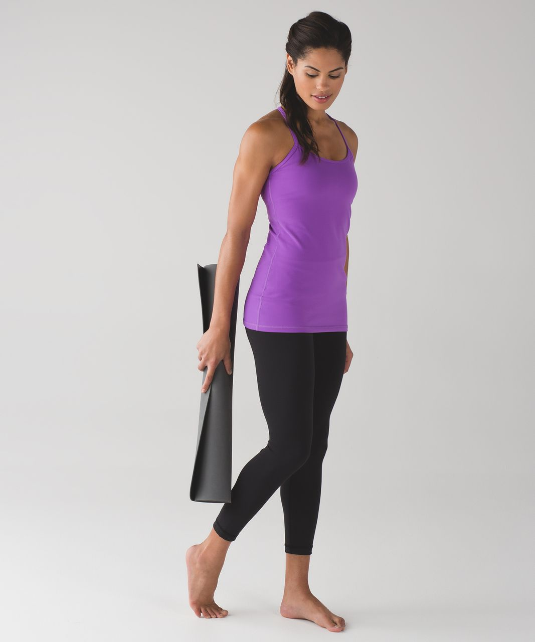 Lululemon Power Y Tank (Luon) - Moonlit Magenta