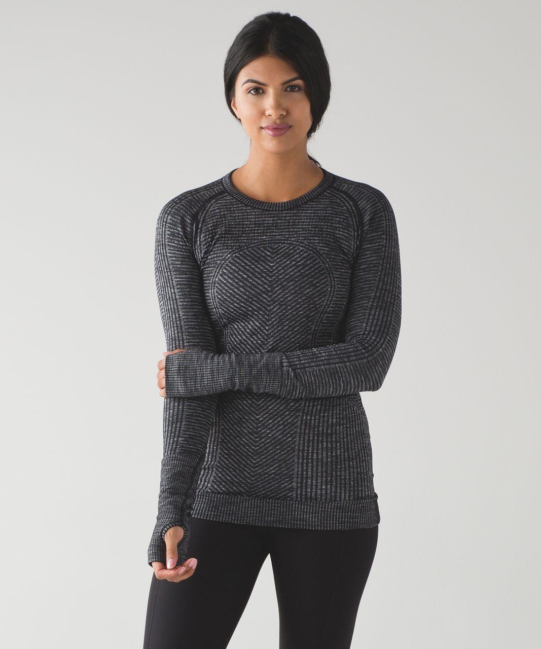 Lululemon Restless Pullover - Heathered Black